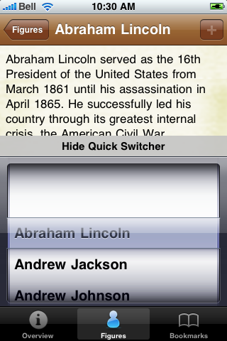 US Presidents Pocket Book screenshot #4