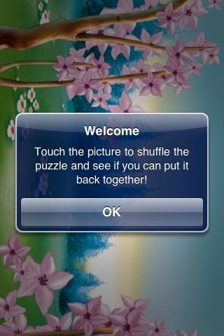 Spring Forest Slide Puzzle screenshot #3