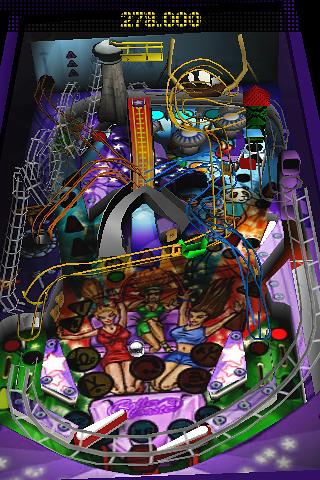 ZEN Pinball Rollercoaster screenshot #2