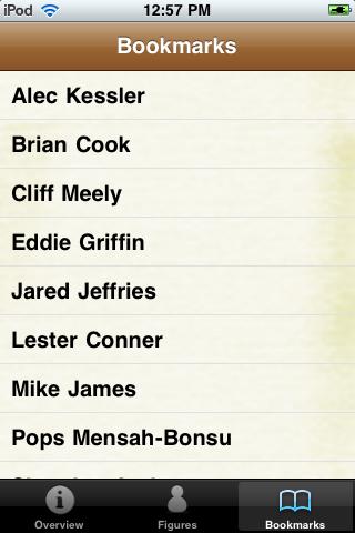 All Time Houston Basketball Roster screenshot #4