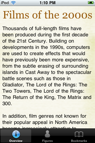 2000's Movie Alamanac screenshot #1