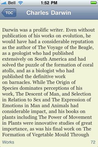 Charles Darwin screenshot #3