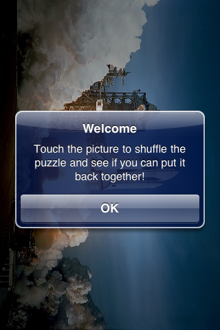 Space Shuttle Slide Puzzle screenshot #2