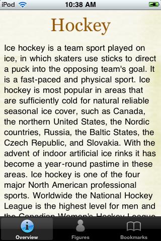 Hockey Pocket Book screenshot #1