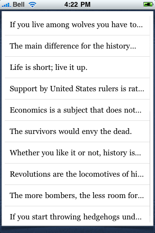 Nikita Khrushchev Quotes screenshot #3