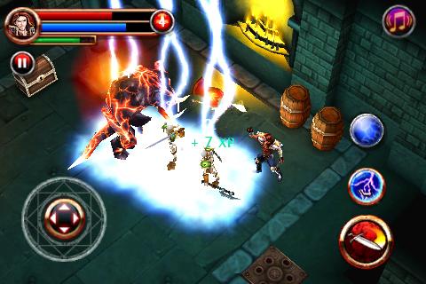 Dungeon Hunter - FREE screenshot 1