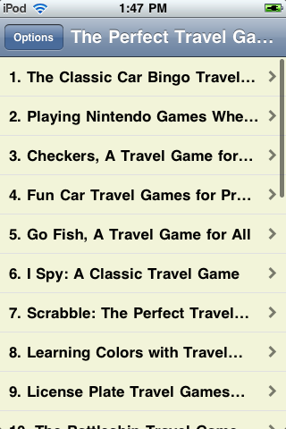 The Perfect Travel Games screenshot #1