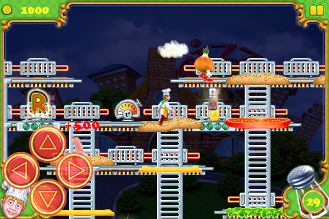 BurgerTime Deluxe screenshot #2