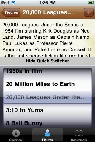 1950's Movie Almanac screenshot #3