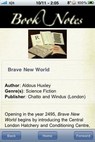Book Notes - Brave New World screenshot #3