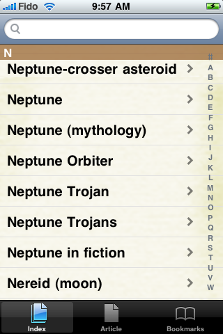Neptune Study Guide screenshot #2