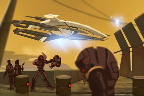 Mass Effect Galaxy screenshot #3