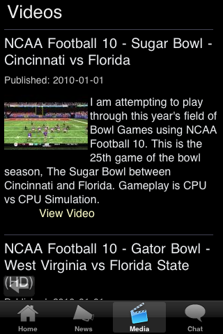 Samford College Football Fans screenshot #5