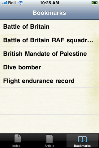 Battle of Britain Study Guide screenshot #2