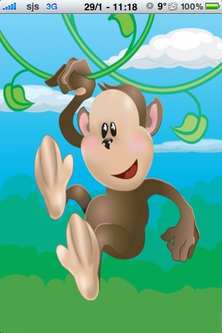 Funny Monkey Slide Puzzle screenshot #1