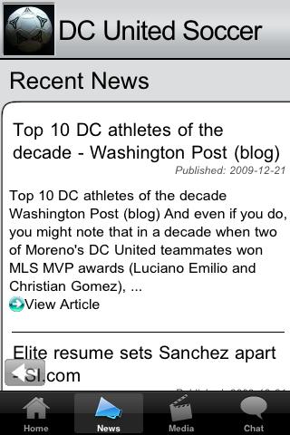 Soccer Fans - DC U screenshot #3