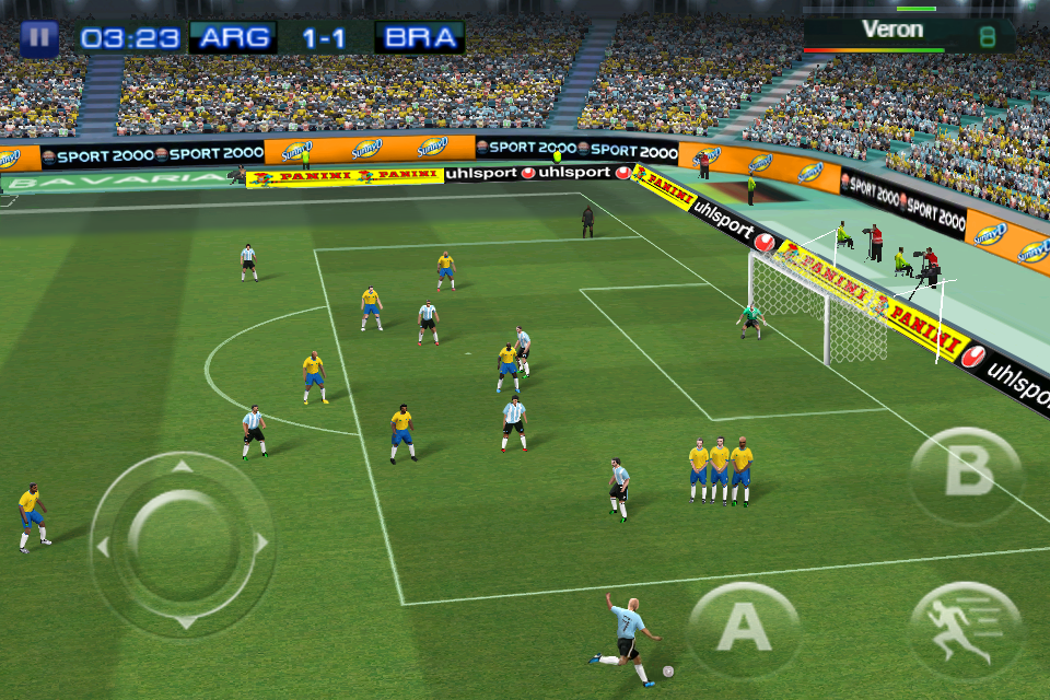 Real Soccer 2011 FREE screenshot #3
