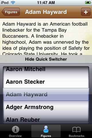 All Time Tampa Bay Football Roster screenshot #3