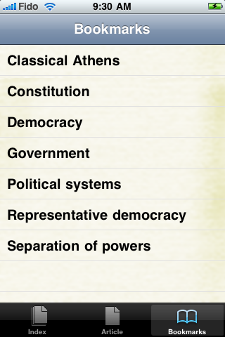 Democracy Study Guide screenshot #3