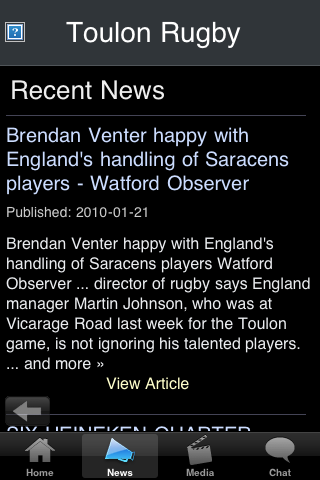 Rugby Fans - Toulon screenshot #2