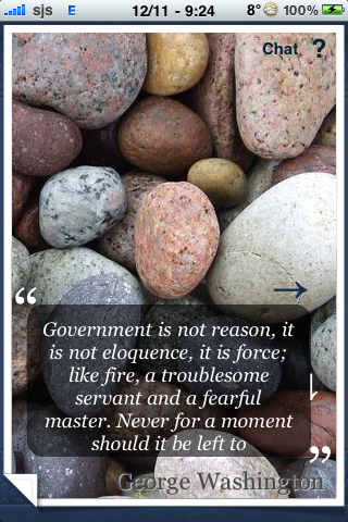 George Washington Quotes screenshot #3