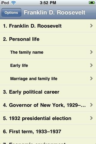 Franklin D. Roosevelt - Just the Facts screenshot #1