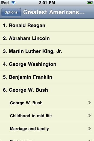The Greatest Americans screenshot #1