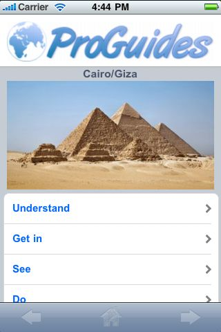 ProGuides - Giza screenshot #1