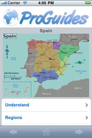 ProGuides - Spain screenshot #1