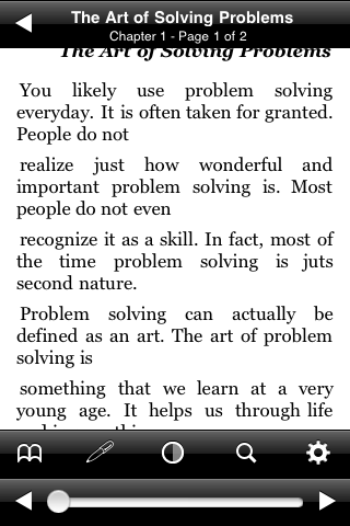 The Art of Solving Problems screenshot #3