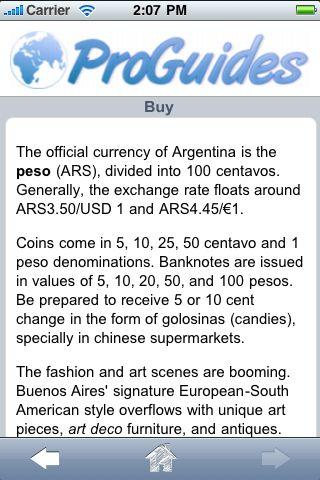 ProGuides - Argentina screenshot #2