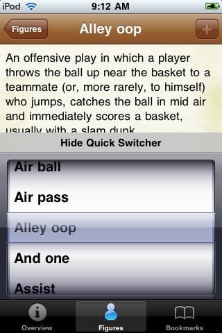 Basketball Terminology screenshot #4