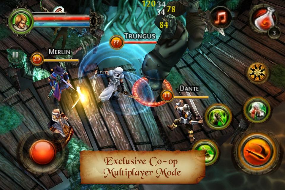 Dungeon Hunter 2 FREE screenshot #4