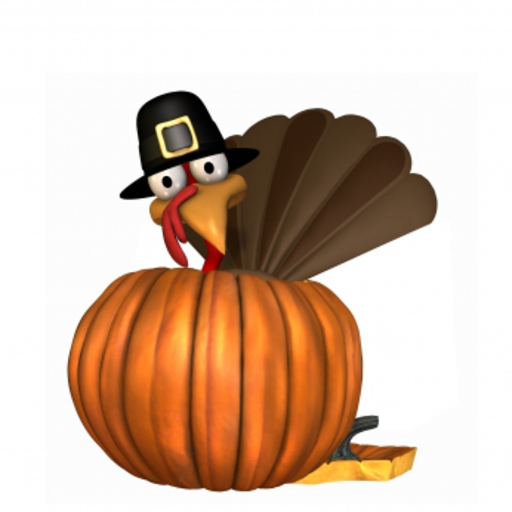 Thanksgiving Turkey Snow Globe