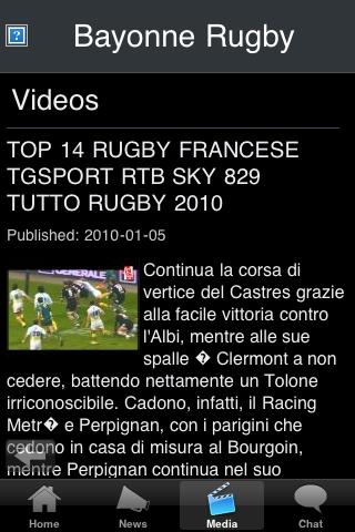 Rugby Fans - Bayonne screenshot #3