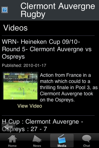 Rugby Fans - Clermont screenshot #3