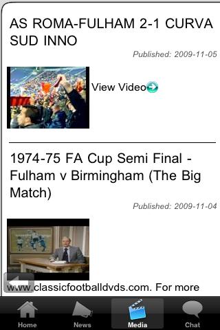 Football Fans - Elgin City screenshot #4
