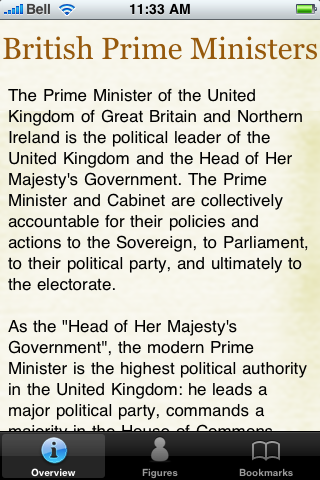 British Prime Ministers Pocket Book screenshot #5