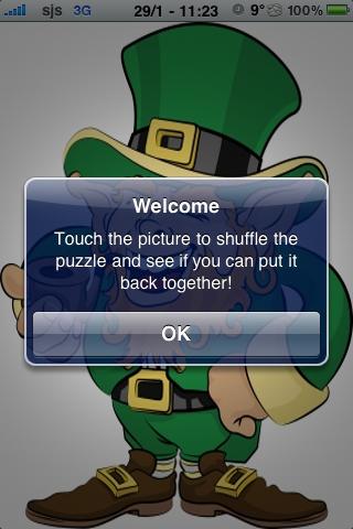 Leprauchan Slide Puzzle screenshot #3