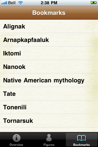 Native American Mythology screenshot #2