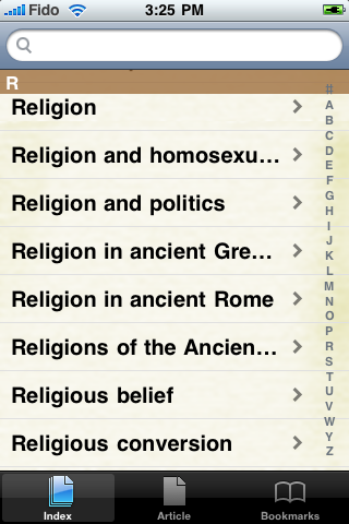 History of Religion Study Guide screenshot #2