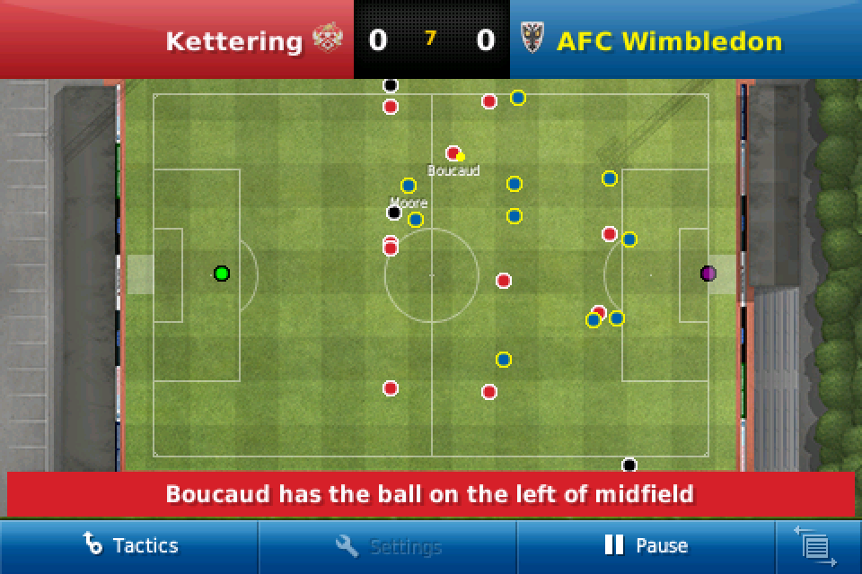 Football Manager Handheld™ 2011 (US and Japan) screenshot #3