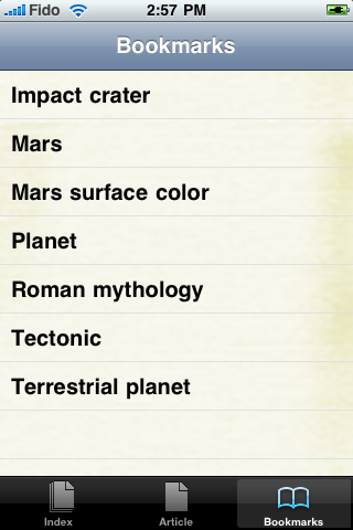 Mars Study Guide screenshot #3