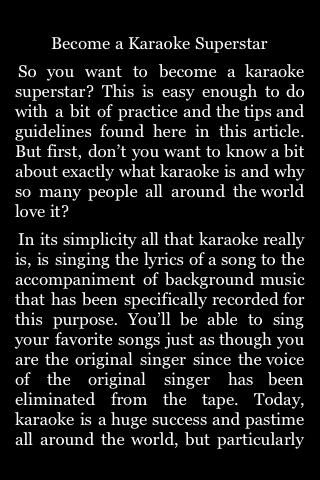 Become a Karaoke Superstar screenshot #3