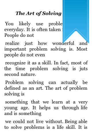 The Art of Solving Problems screenshot #2