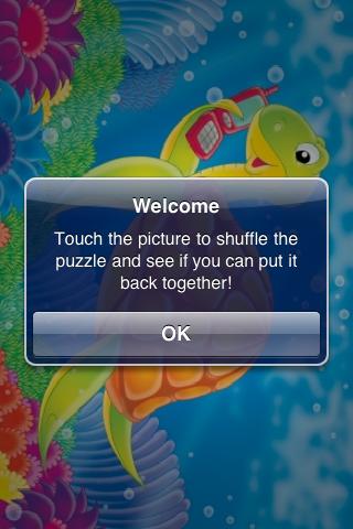 Sea Turtle Slide Puzzle screenshot #2