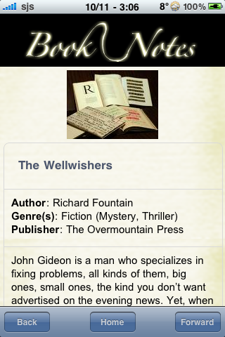 Book Notes - The Wellwishers screenshot #3