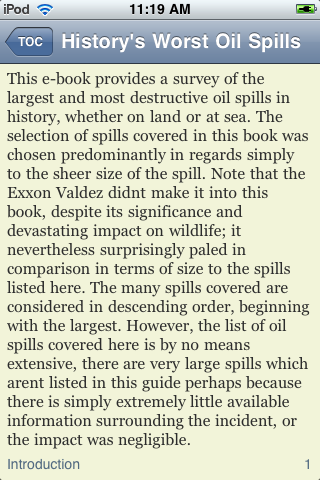 History's Worst Oil Spills screenshot #3