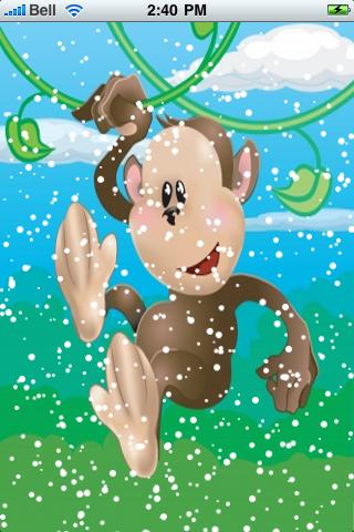 Funny Monkey Snow Globe screenshot #2