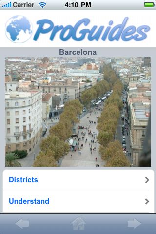 ProGuides - Barcelona screenshot #1